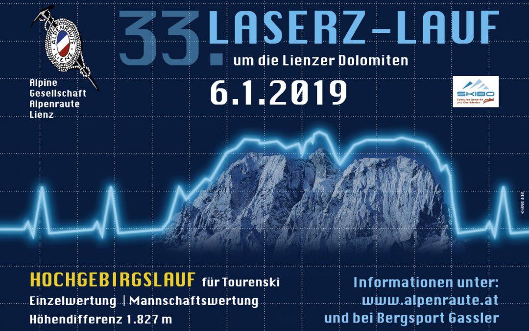 33. Laserzlauf