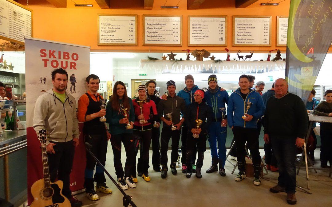 10. Blauspitz Nachtskitourenlauf und Auftakt zur SKIBO-Tour
