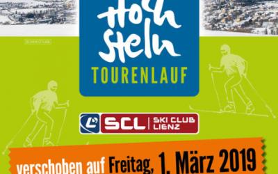 Update 4. Hochstein Tourenlauf – Ersatzstrecke
